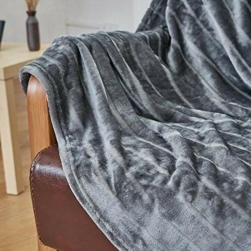 Bertte Velvet Super Soft Throw Blanket-50quotx 6