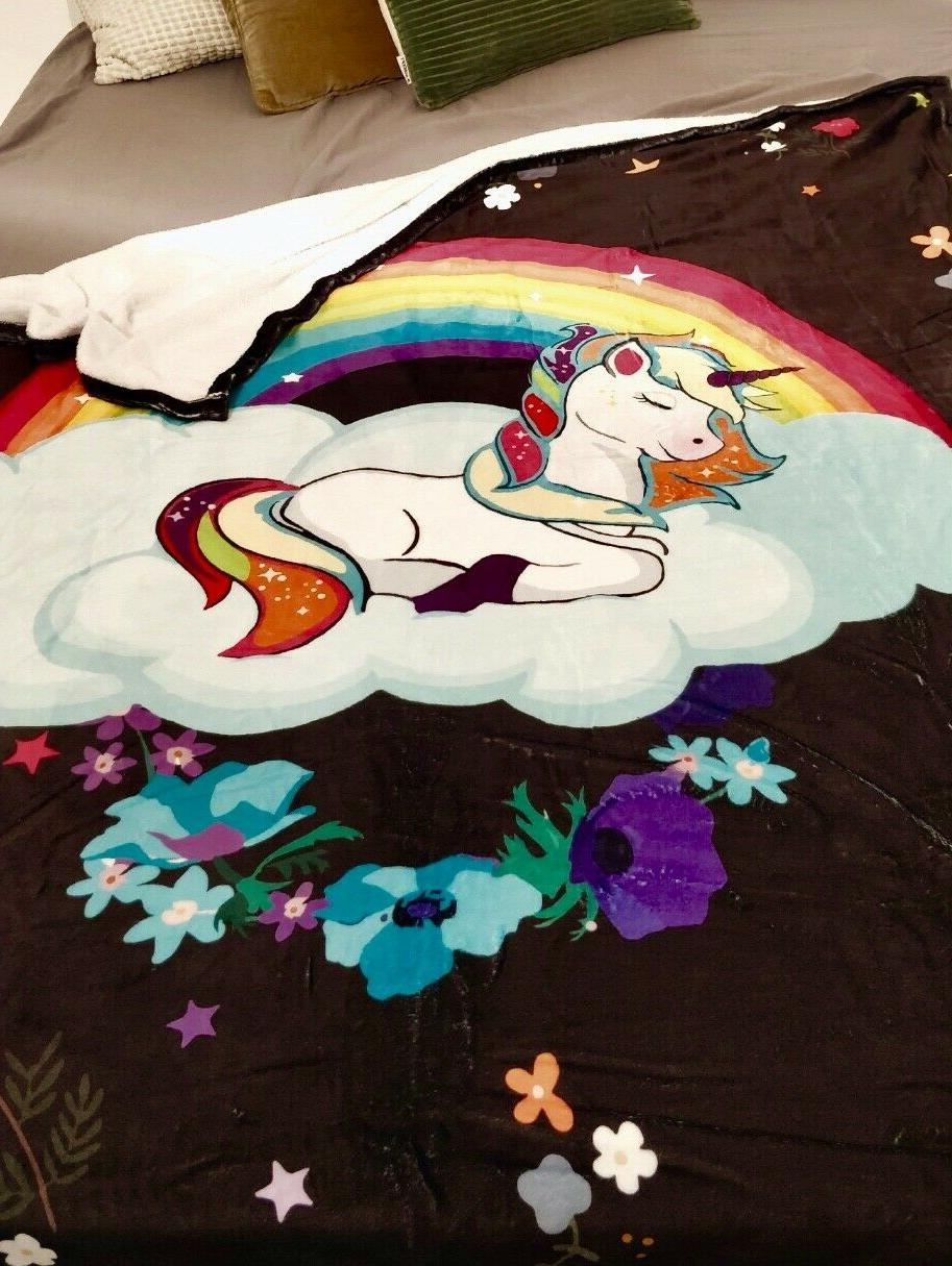 Unicorn for and Boys - Plush Blanket