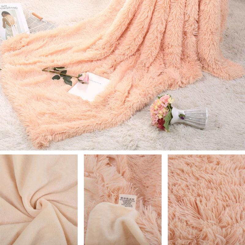 Super Soft Throw Fluffy Fur Sheet