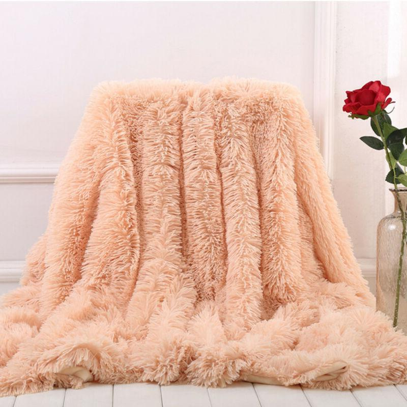 Super Soft Fluffy Faux Sheet OCC