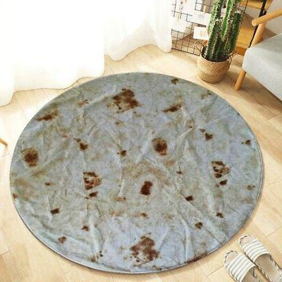 US Tortilla Throw Blanket