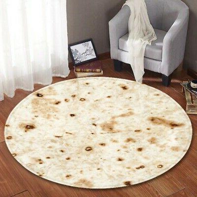 US Blanket Throw Tortilla Fleece Throw Super