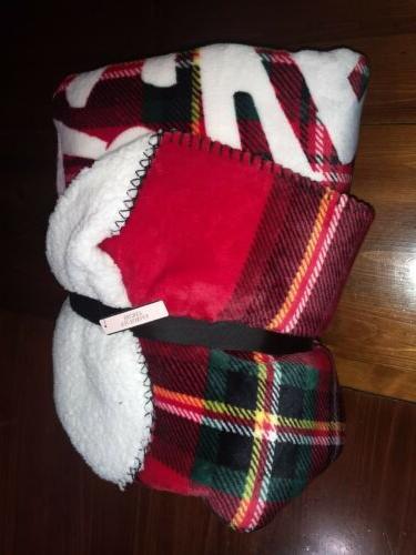 victorias secret sherpa blanket super soft throw