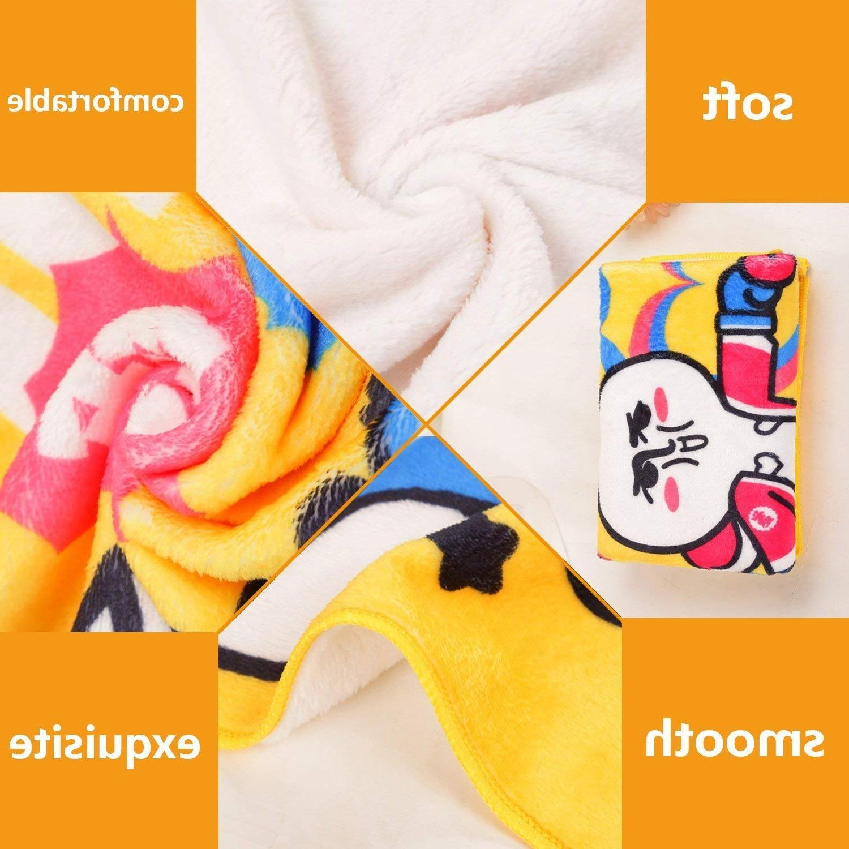 <font><b>Ivory</b></font> Pastel Colored Round Shapes Pattern Simplistic and Artful Design <font><b>Blanket</b></font>