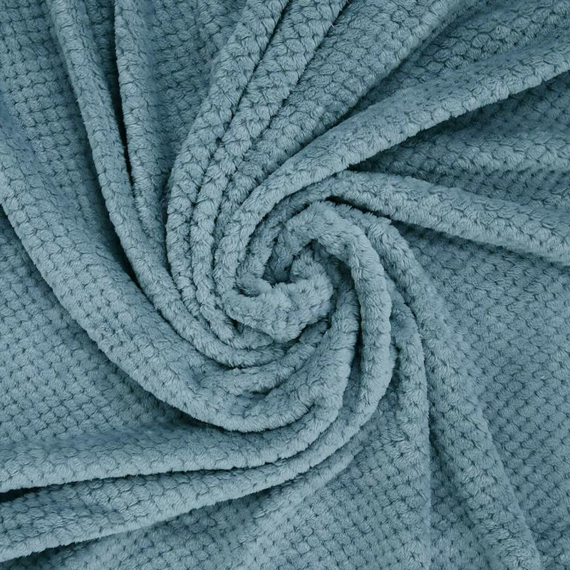 "Exclusivo Mezcla Fleece Velvet Plush Blanket 60"""