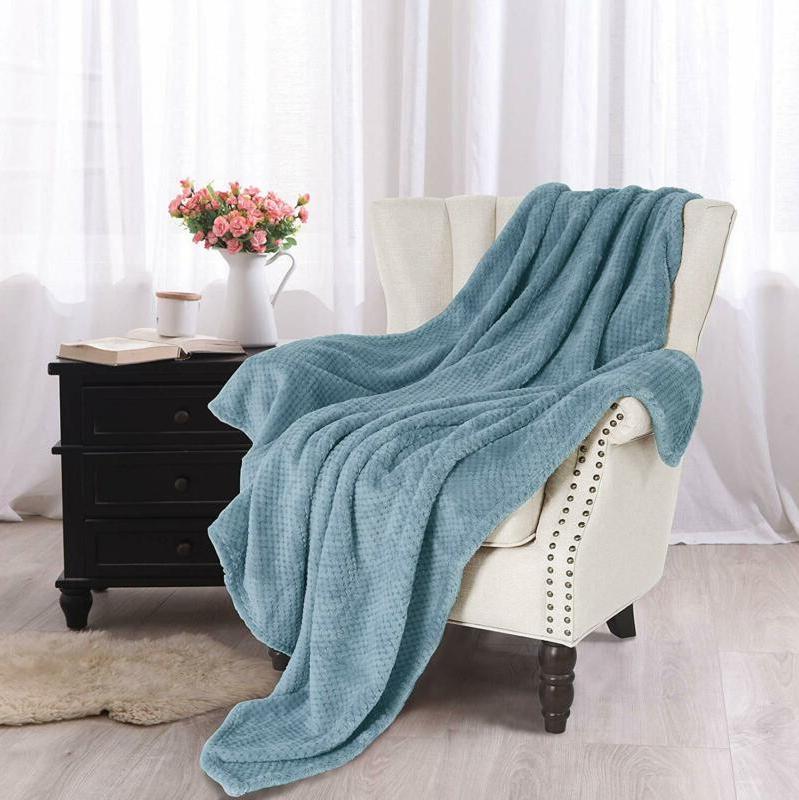 """Fleece Velvet Plush Throw Blanket X 60"""""""