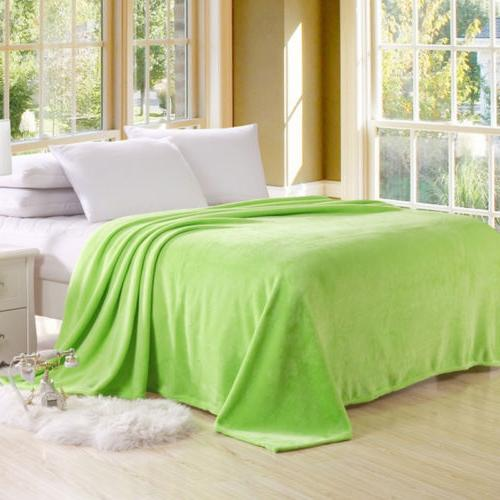 Warm Super Plush Blanket Sofa Home Bed Fleece Queen
