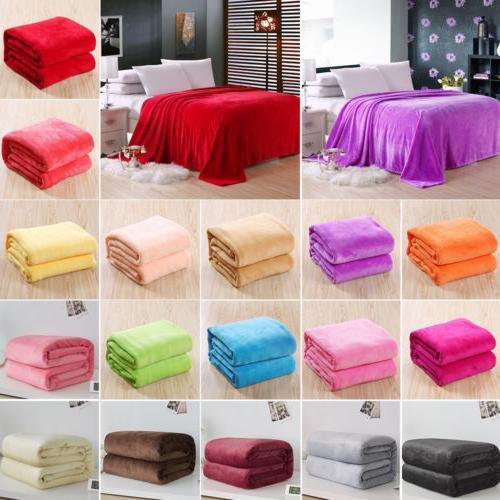 warm throw super soft plush velvet blanket
