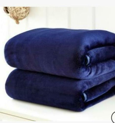 Warm Throws Soft Plush Velvet Home Fleece Queen