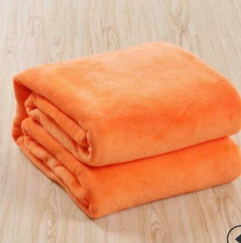 Warm Throws Super Soft Plush Velvet Home Bed Twin Queen