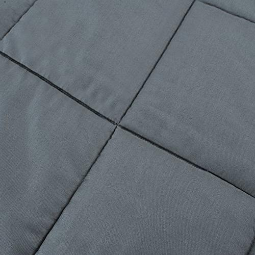 Weighted with Anxiety by Therapy, lbs Weighted Blanket 100 - 150 for Better Sleep Stress Relief