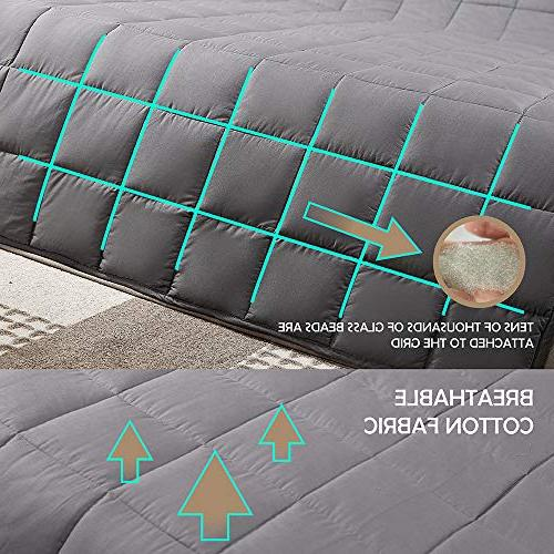 Adults Perfect Heavy Blankets Relaxation, Fall Asleep Gift