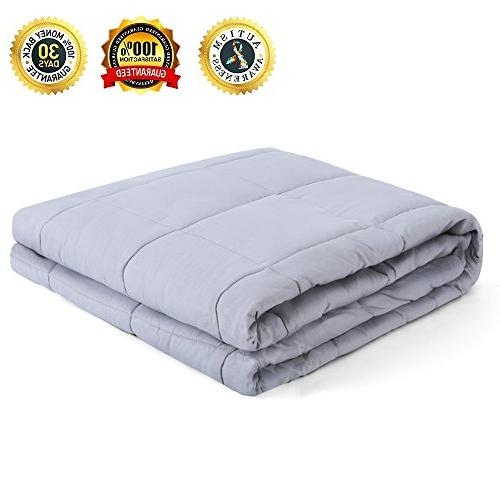 weighted blanket gravity sensory heavy