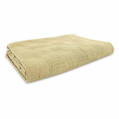 JMR Hospital/Home Blanket Snagfree 100% Coach Throw