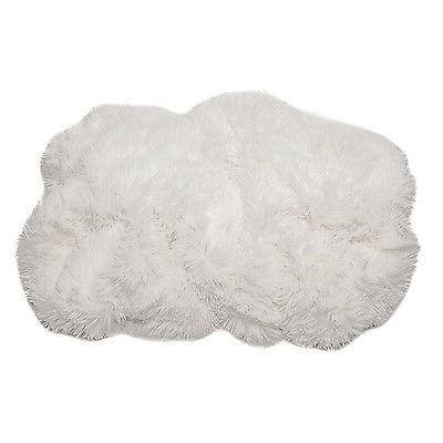 White Long Fur Faux Warm Cozy
