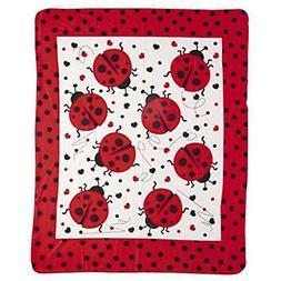 "Ladybug Fleece Blankets & Throws Throw Home "" Kitchen"