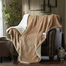 Large Decorative Plush Throw Blanket Fireside Naps Outside M