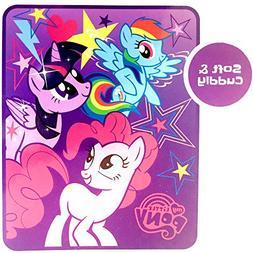 My Little Pony Throw Blanket   Silky Soft & Cuddly Throw 40