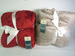 lot of 2 flannel fleece waffle pattern