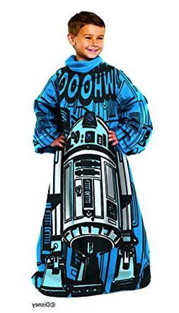 Disney Lucas Films' Star Wars Astromech Youth Comfy Throw wi