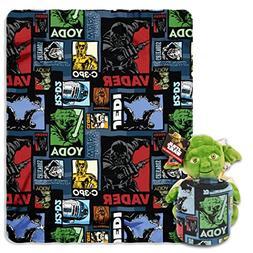"Disney's Star Wars, ""Yoda Story"" Character Pillow and Fleece"