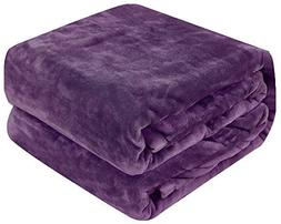 Qbedding Inc. Luxury Collection Microplush Flannel Fleece Bl