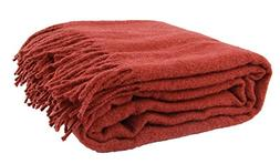 Winthome Luxury Extra Soft Wool Blanket Throw, Suitable for