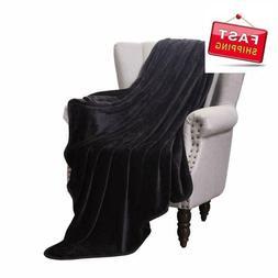 Exclusivo Mezcla Luxury Flannel Velvet Plush Throw Blanket 5