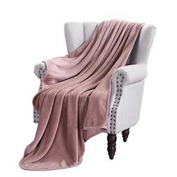 Luxury Flannel Velvet Plush Throw Blanket Super Soft Durable