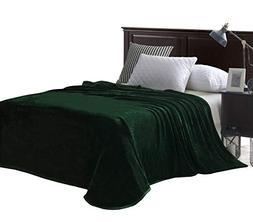 Exclusivo Mezcla Luxury King Size Flannel Velvet Plush Solid