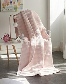 Luxury Reversible 100% Cotton Patchwork Quilted Throw Super