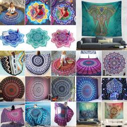 Mandala Hippie Gypsy Tapestry Wall Hanging Bedspread Towels