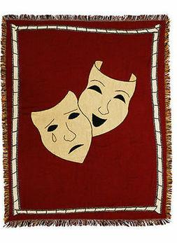 Mask Home Theater Throw Blanket! Theatre Blankets - Cinema M