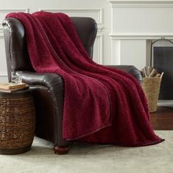 Members Mark Oversized Cozy Sherpa Throw Blanket, Reversible