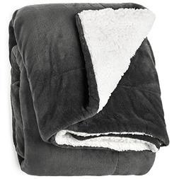 "Life Comfort Microfiber Plush Polyester 60""x70"" Large Al"