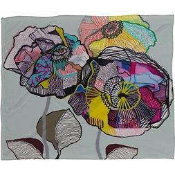 Deny Designs Mikaela Rydin Growing Fleece Throw Blanket, 40-