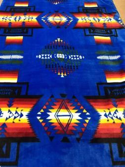 Native American Navajo Print Pendleton Style Blanket Reversi