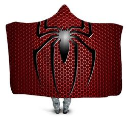 New Fashion Superhero Design 3D Wearable Hooded <font><b>Bla