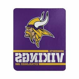 New Football Minnesota Vikings Fleece blanket Split Soft Thr