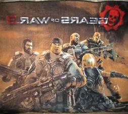 New Gears of War 3 XBox 360 Plush Fleece Throw Gift Blanket