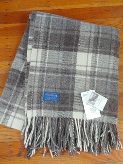 NEW PENDLETON Highland Motor Robe throw blanket 100% Wool 52