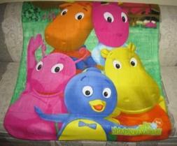 New The Backyardigans Fleece Throw Blanket Kids Gift NWT Pab