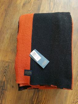 New Pendleton Unique Pioneer Blanket Striped 100% Wool King