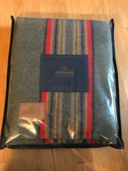 New W/tags Pendleton Yakima Camp Wool THROW Blanket Heather