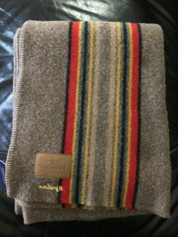 "New Pendleton Yakima Camp Wool Throw / Blanket 54"" X 66"""