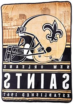 Officially Licensed NFL New Orleans Saints Stacked Silk Touc