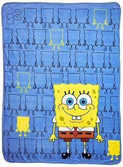 Nickelodeon Spongebob Squarepants, Line Up Bob Micro Raschel