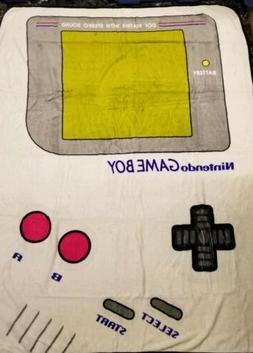 "Nintendo Game Boy 48"" x 60"" Super Soft Plush Throw Blank"