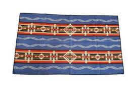 NWOT Pendelton Throw Blanket Multicolored Pattern Wool Blend