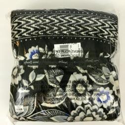 NWT Vera Bradley Fleece Snow Lotus Throw Blanket 80 X 50